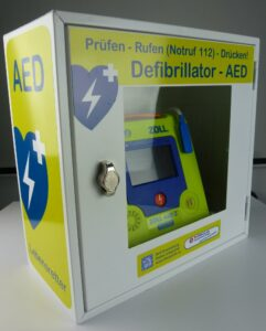 Zoll-AED-3-AED-Wandschrank